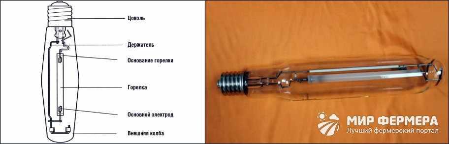днат лампы