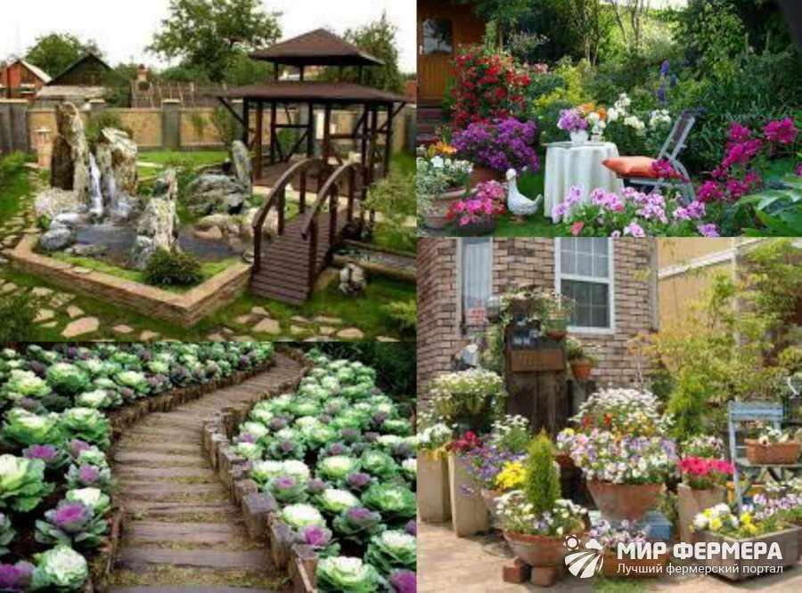 Варианты оформления сада фото