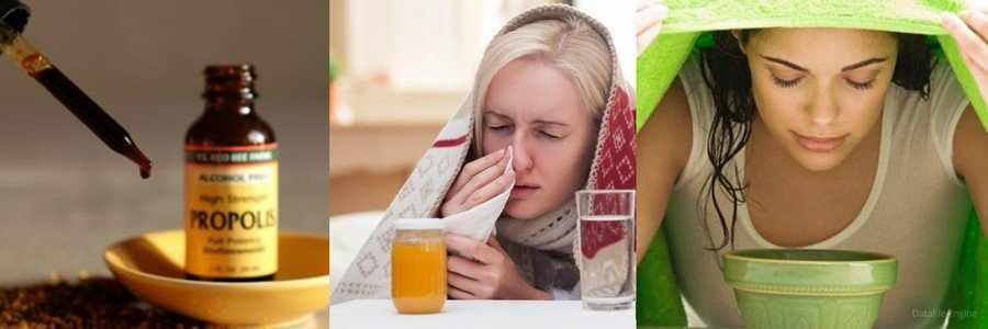 Прополис при простуде