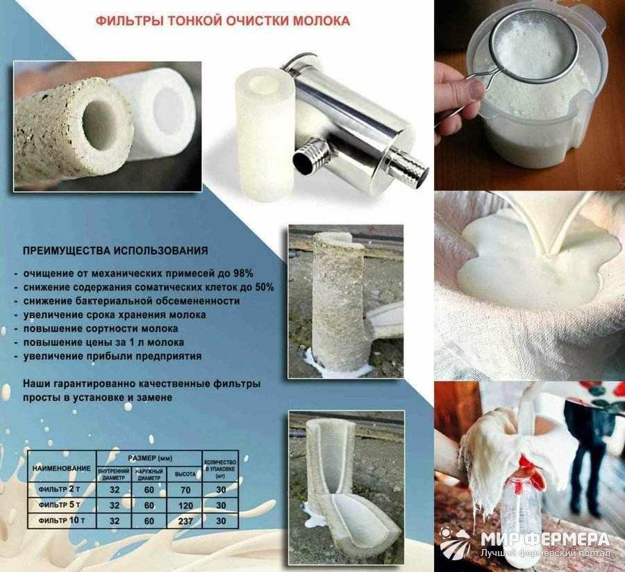 Как очистить молоко в домашних условиях