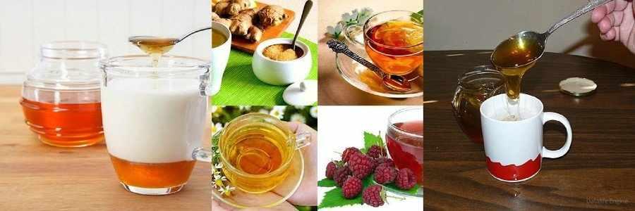 Мед при простуде