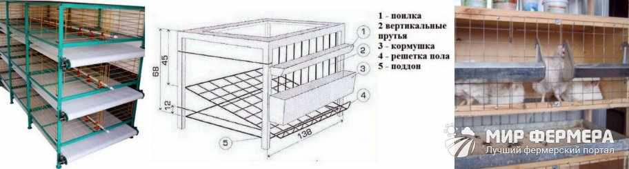 Самодельные клетки для бройлеров