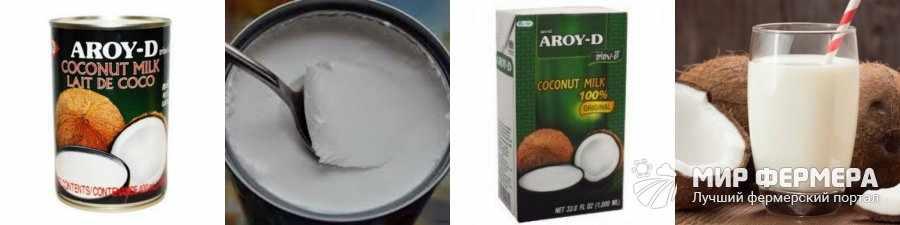 Как выглядит кокосовое молоко