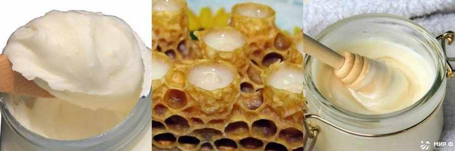 Мед с маточным молочком фото