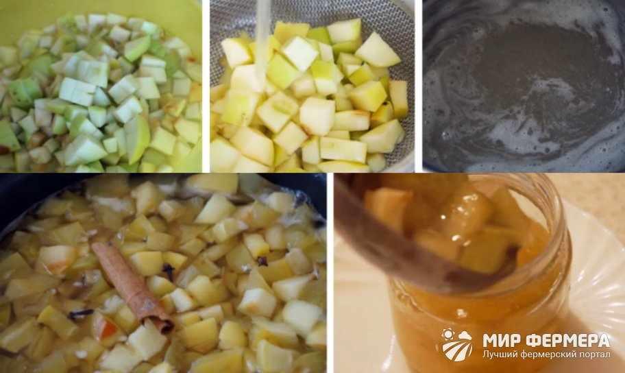 Яблочное варенье с корицей и гвоздикой