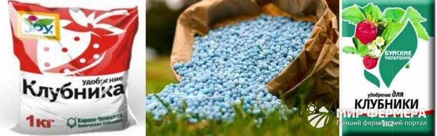 Купить минеральные удобрения для клубники