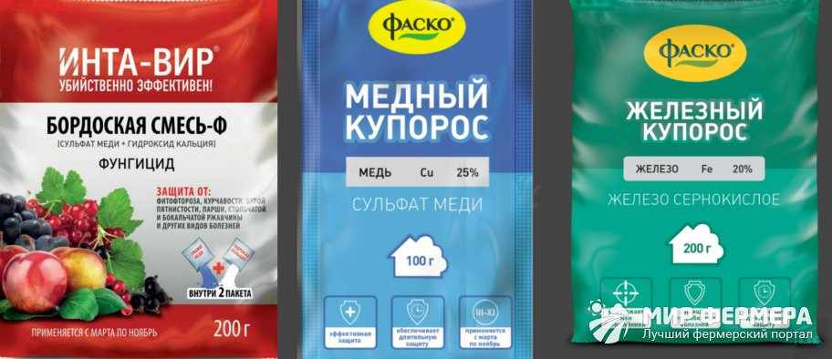 Химикаты против болезней винограда