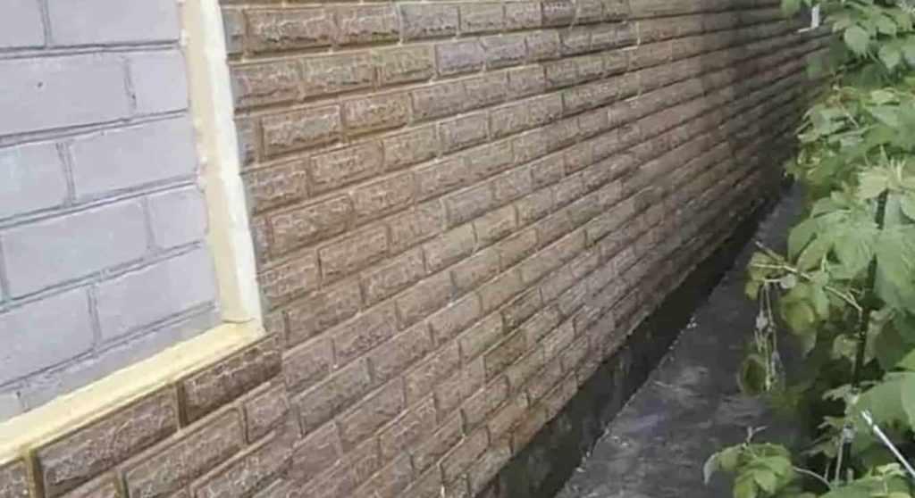 Полиуретановые фасадные панели