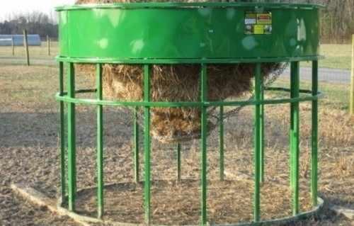 Кормушка для овец со скатом