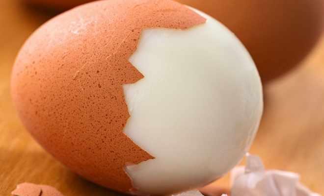Вес яйца без скорлупы