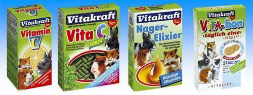 Витамины для шиншиллы и других грызунов