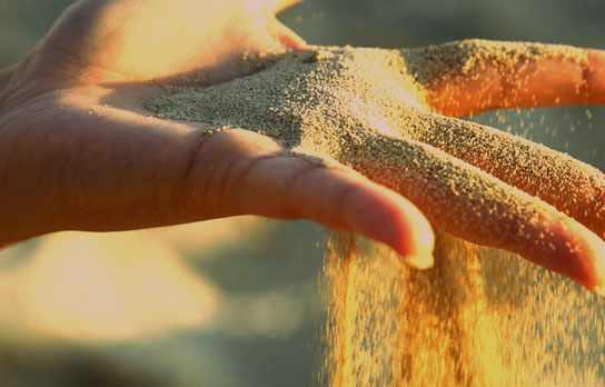 Кварцевый песок не подходит для шиншилл
