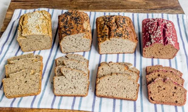 Безглютеновый гречневый хлеб