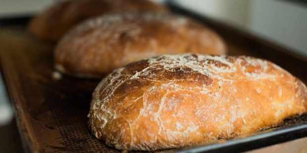 Чиабатта из ржано-пшеничного теста