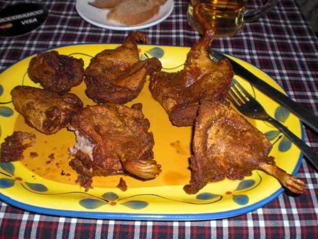 Ресторанное блюдо в Перу
