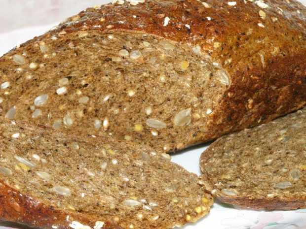 Хлеб с цельными зернами