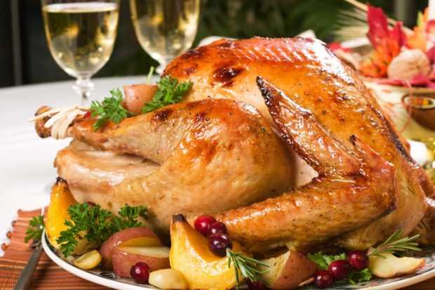 Запеченный лебедь - праздничное блюдо