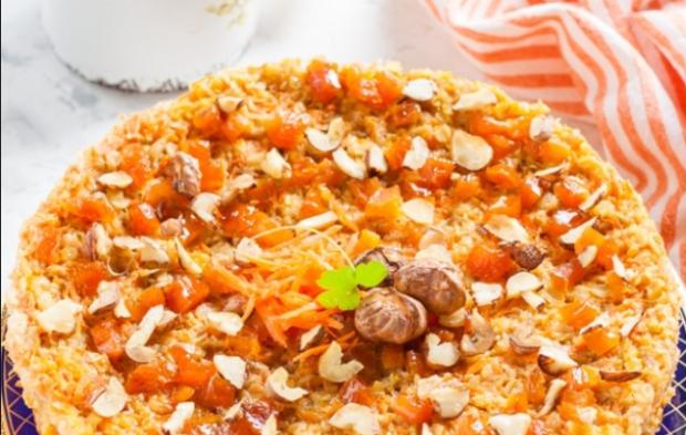 Морковно-гречневая запеканка