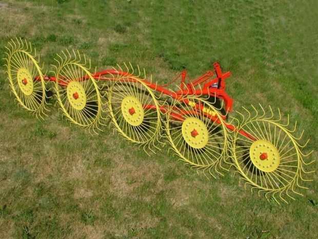 Грабли ворошилки для трактора