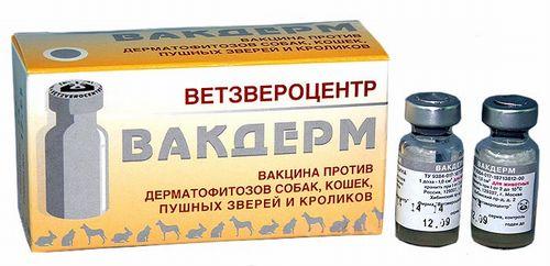 Вакцина Вакдерм F от дерматитов
