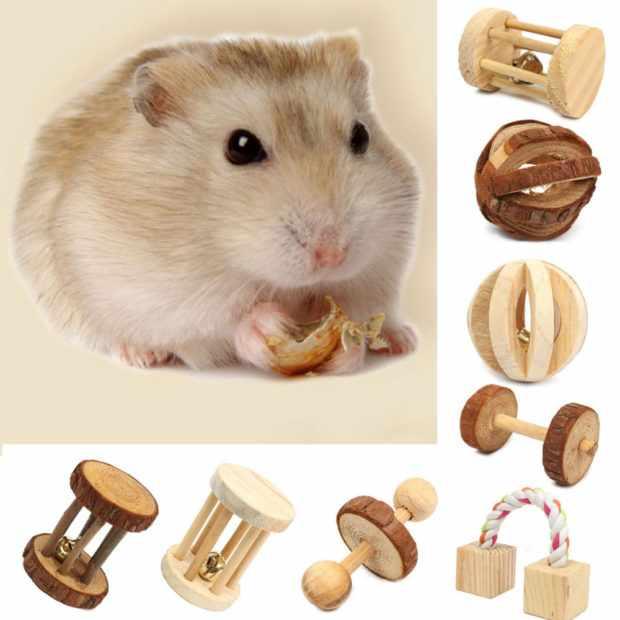 Деревянные игрушки - сенники и каталки