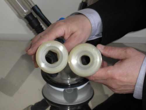 Присоски для доения на аппарате