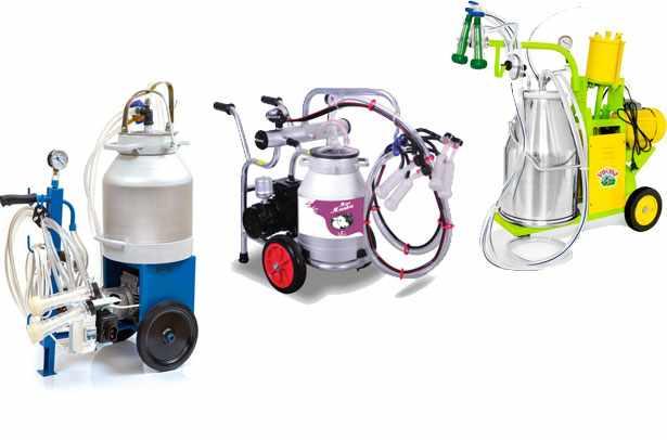 Аппараты для доения коз