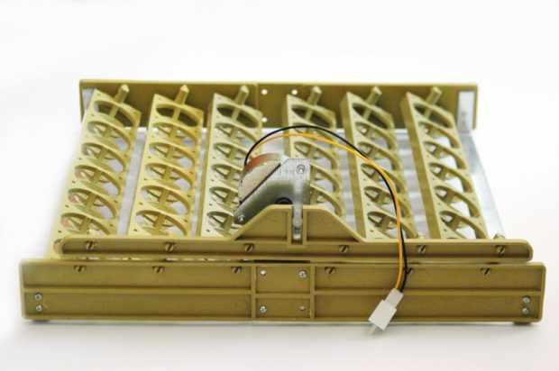 Наклонный лоток с переключателем