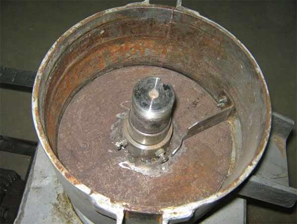 Корпус гранулятора из металла