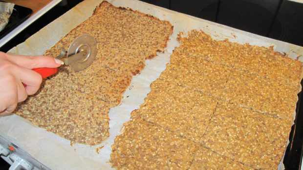 Изготовление хлебцов