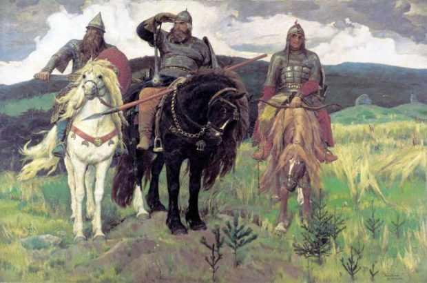 Конь Ильи Муромца имел кличку Бурушка-Косматушка