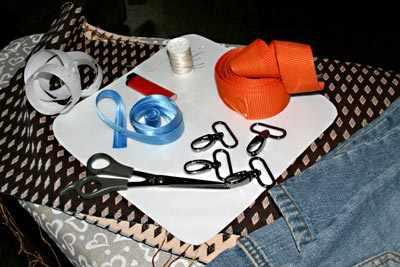 Материалы для пошива гамачка