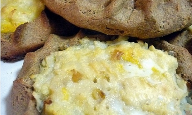Картофельная ватрушка