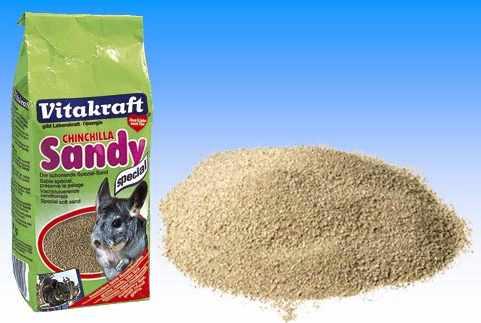 Песок Витакрафт содержит защиту от паразитов