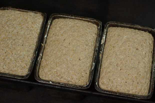 Выпекание ржаного хлеба