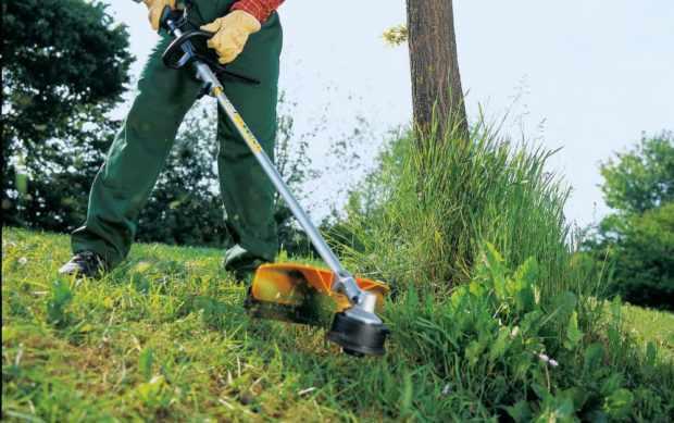 Мотокоса для заготовки травы