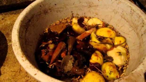 Овощной суп с зерном