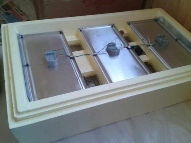 Общий вид инкубатора Золушка