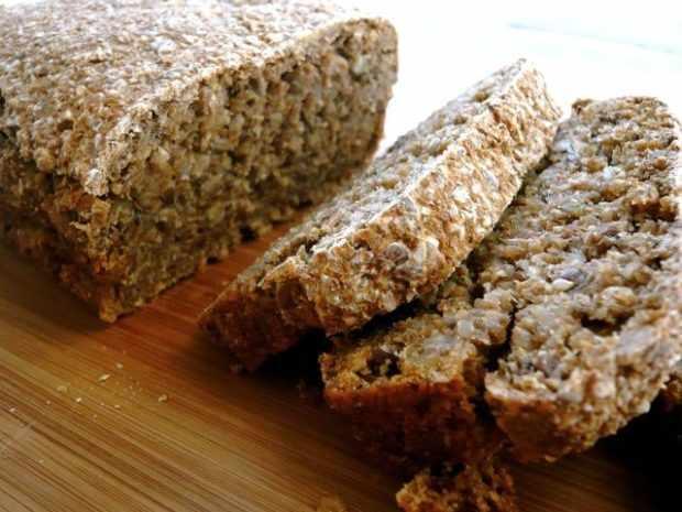 Бездрожжевой хлеб и проростков