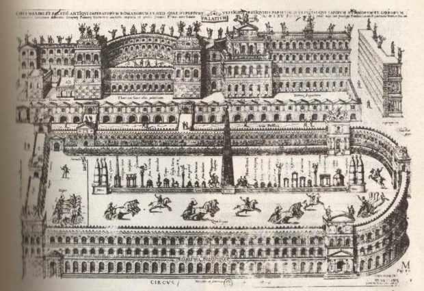 Скачки на коленицах в Древнем Риме