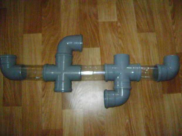 Изготовление туннеля из пластиковых труб