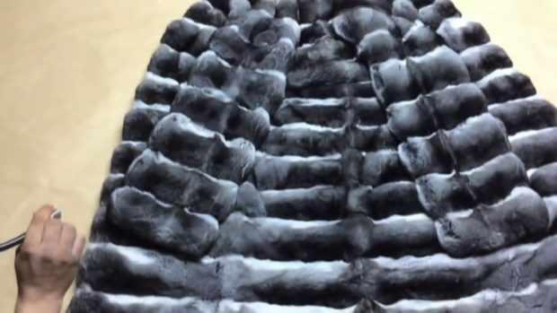 Шиншилловый мех - на один полушубок идет до 160 шкурок