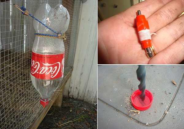 Процесс изготовления из бутылки