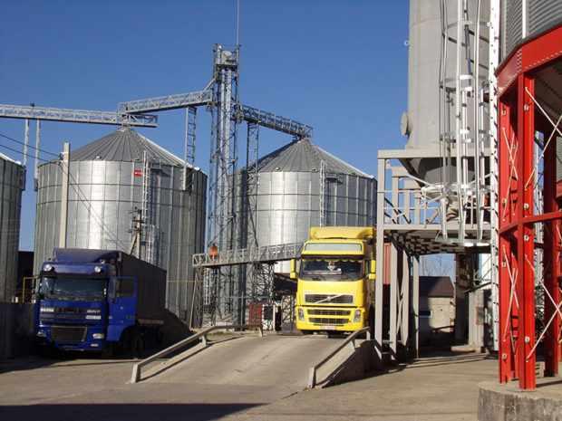 Завод по переработке зерна