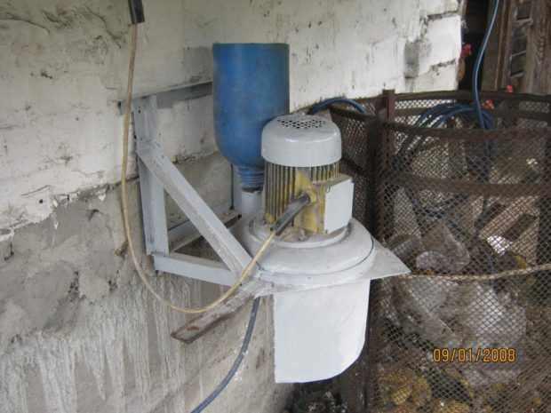 Самодельная электромельница