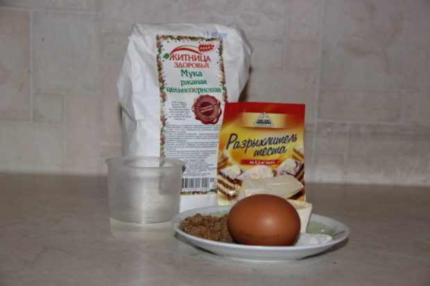 Ингредиенты для простых булочек