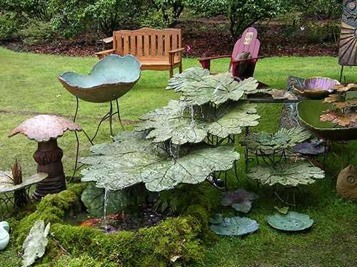 Уголок для отдыха в саду